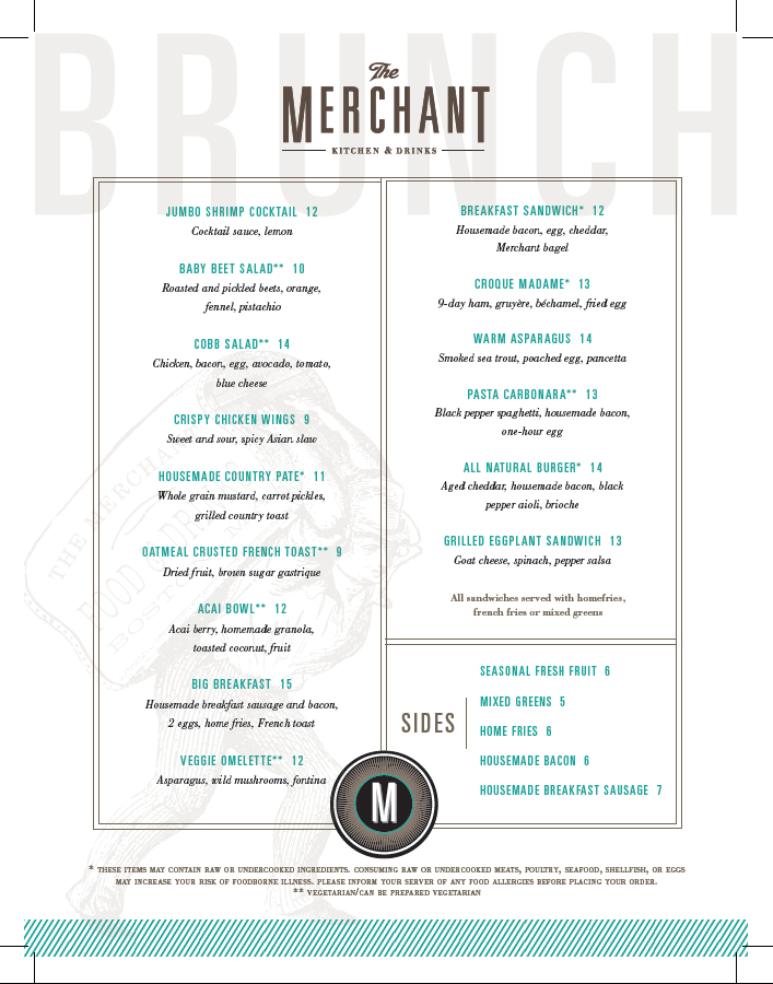 Merchant Brunch